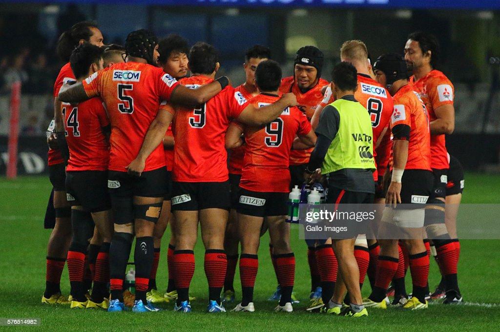 Super Rugby Rd 17 - Sharks v Sunwolves : ニュース写真