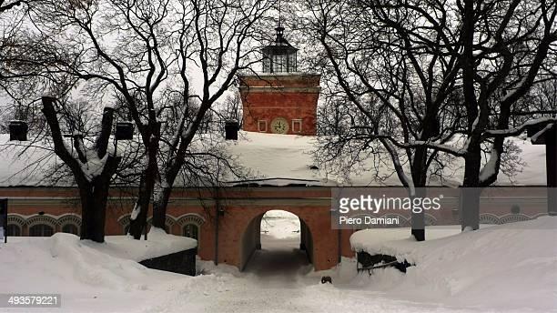 Suomenlinna in winter