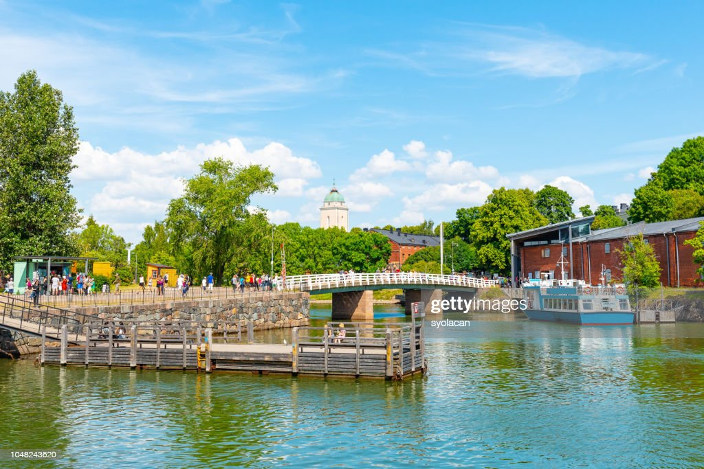 Suomenlinna island of Helsinki in summer : Stock Photo