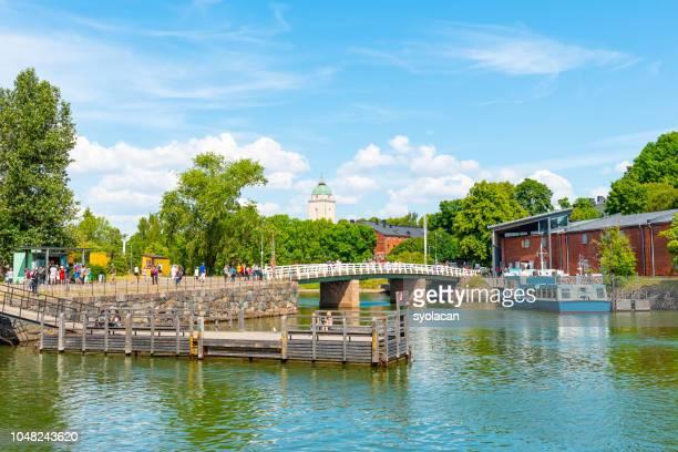 Suomenlinna island of Helsinki in summer