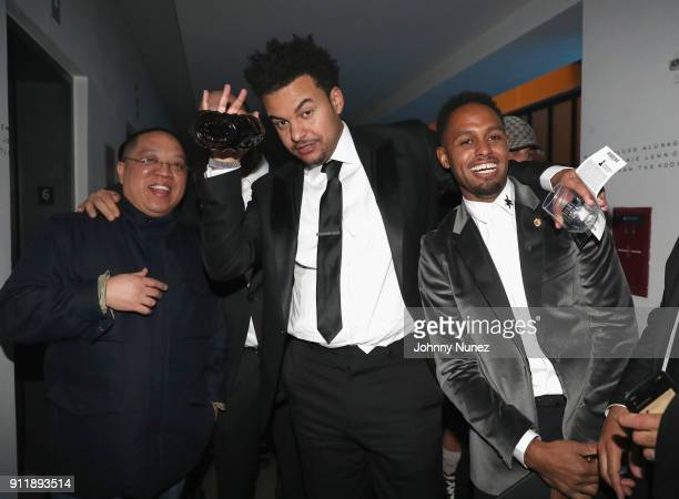 Supa Dups Alex da Kid and Omar Grant attend Universal Music Group's 2018 After Party to celebrate the Grammy Awards supported by The House Of Remy...
