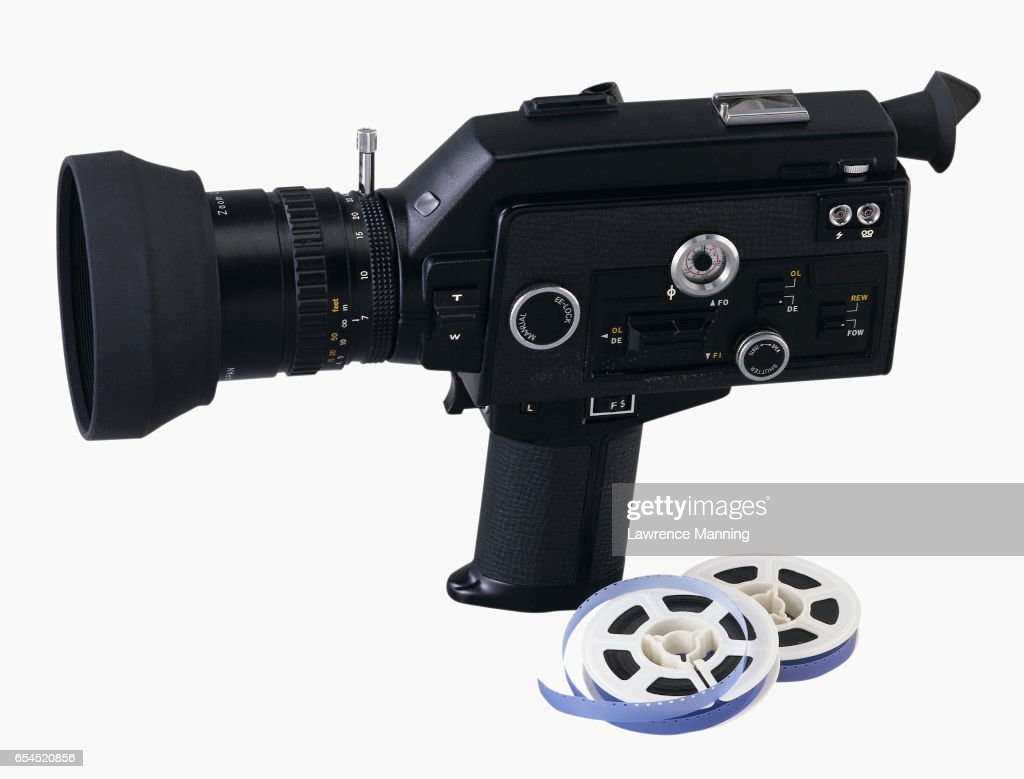 Super 8 Movie Camera Stock Photo - Getty Images