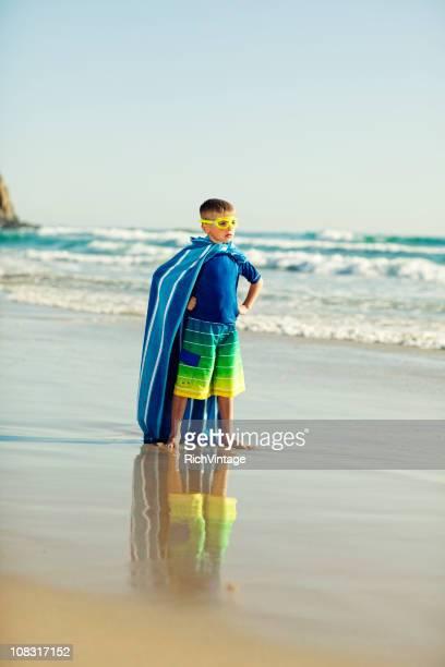 Super héros de la plage