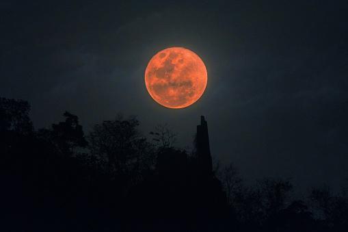 Super blood Blue moon - gettyimageskorea