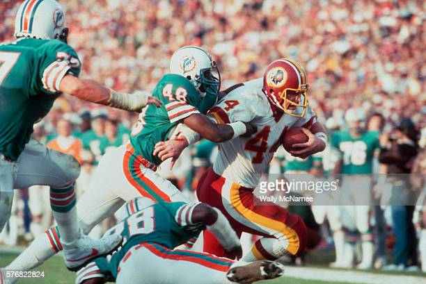 Super Bowl XVII was played in the Rose Bowl by the Washington Redskins and the Miami Dolphins Washington defeated Miami 27 to 17 and Riggins was...