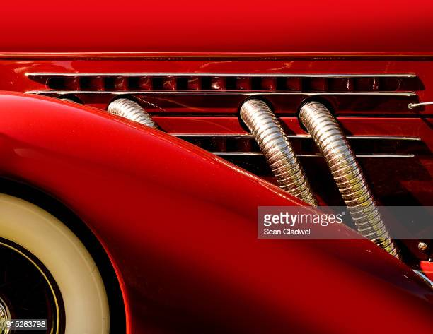 super charged classic car - hot rod car stock photos and pictures
