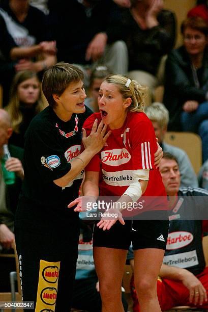 Super Cup Final Coach Anja Andersen Bojana Petrovic Slagelse
