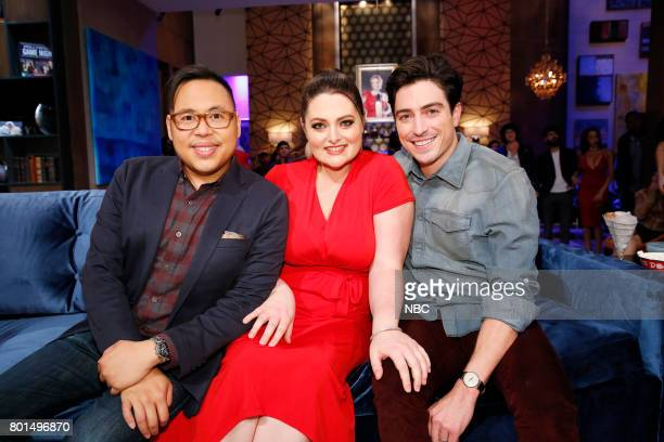 NIGHT 'Super Duper Store Night' Episode 502 Pictured Nico Santos Lauren Ash Ben Feldman