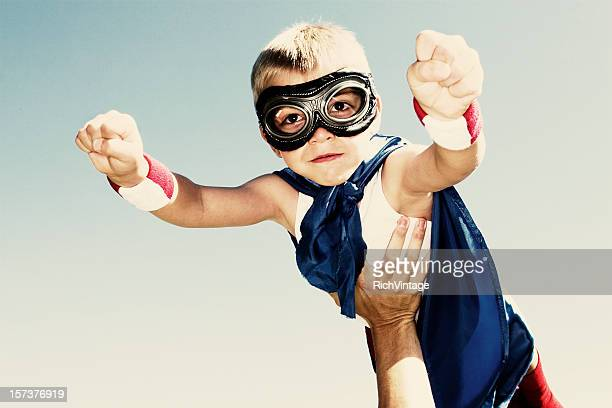 super flyaway - flying goggles stock pictures, royalty-free photos & images