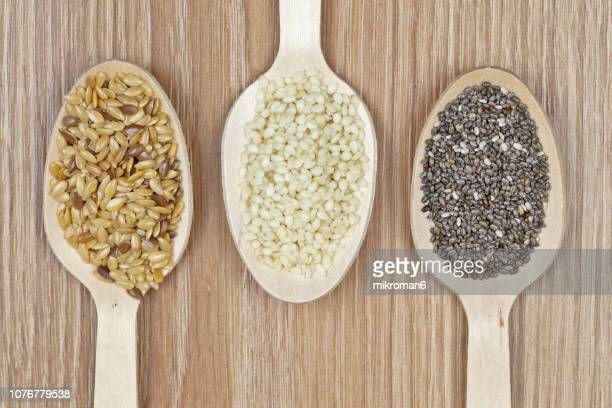 super food grains - sesame stock pictures, royalty-free photos & images