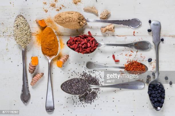 Super-Lebensmittel im Löffel