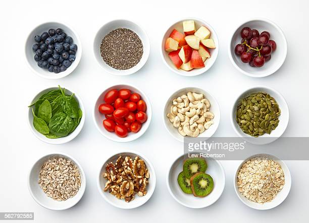 super foods - nut food stock photos and pictures