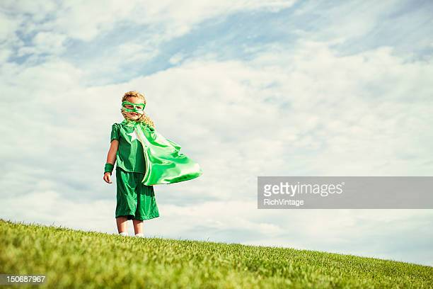 super garota - heróis - fotografias e filmes do acervo