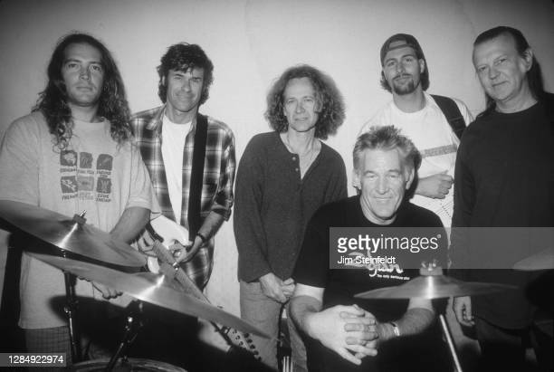 Super group World Classic Rockers pose for a portrait in Los Angeles, California on April 1, 1997.