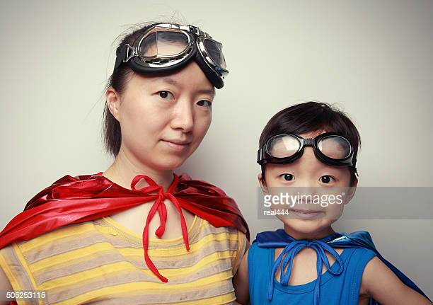 super hero - super mom stock photos and pictures