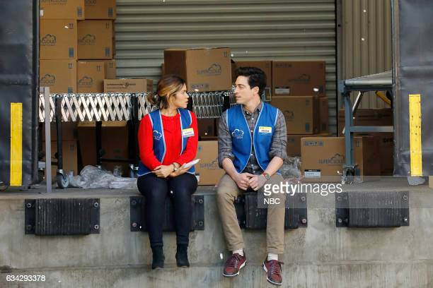 SUPERSTORE 'Super Hot Store' Episode 215 Pictured America Ferrera as Amy Ben Feldman as Jonah