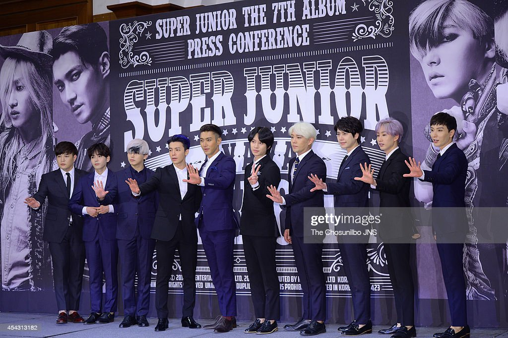 "Super Junior 7th Album ""MAMACITA"" Press Conference"