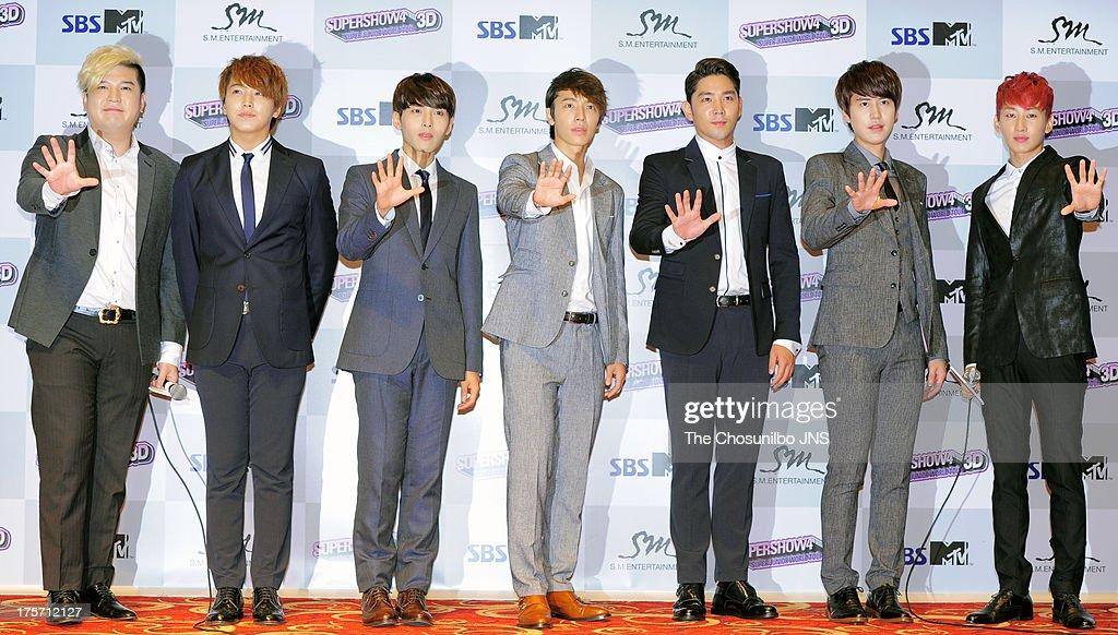 Super Junior 'Super Show 4' In Seoul 3D Premium Premiere