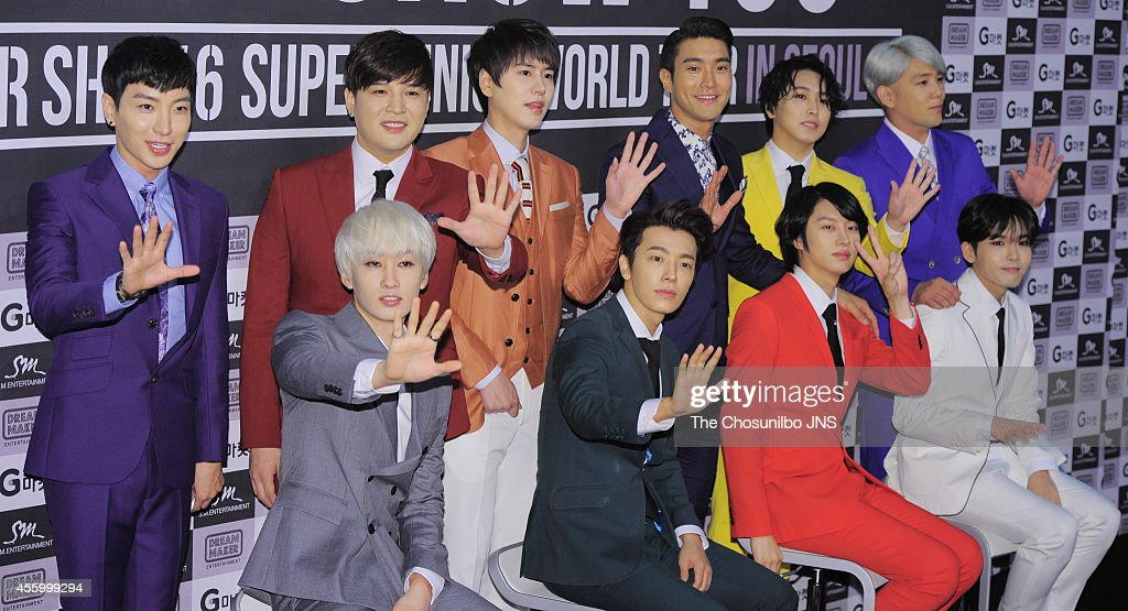 "Super Junior World Tour ""SUPER SHOW 6"" Press Conference"