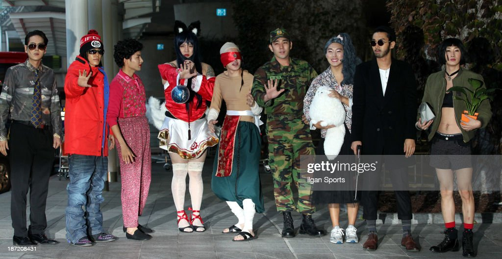 Super Junior Cosplay Performance At Incheon International Airport