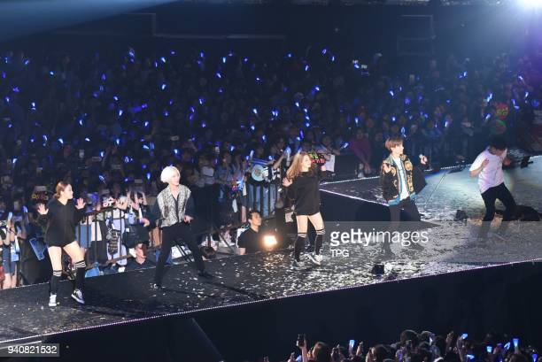 Super JuniorSUPER SHOW 7 Taipei concert on 01th April 2018 in Taipei Taiwan China