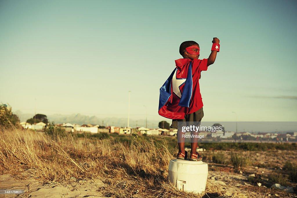 Super Kid : Stock Photo