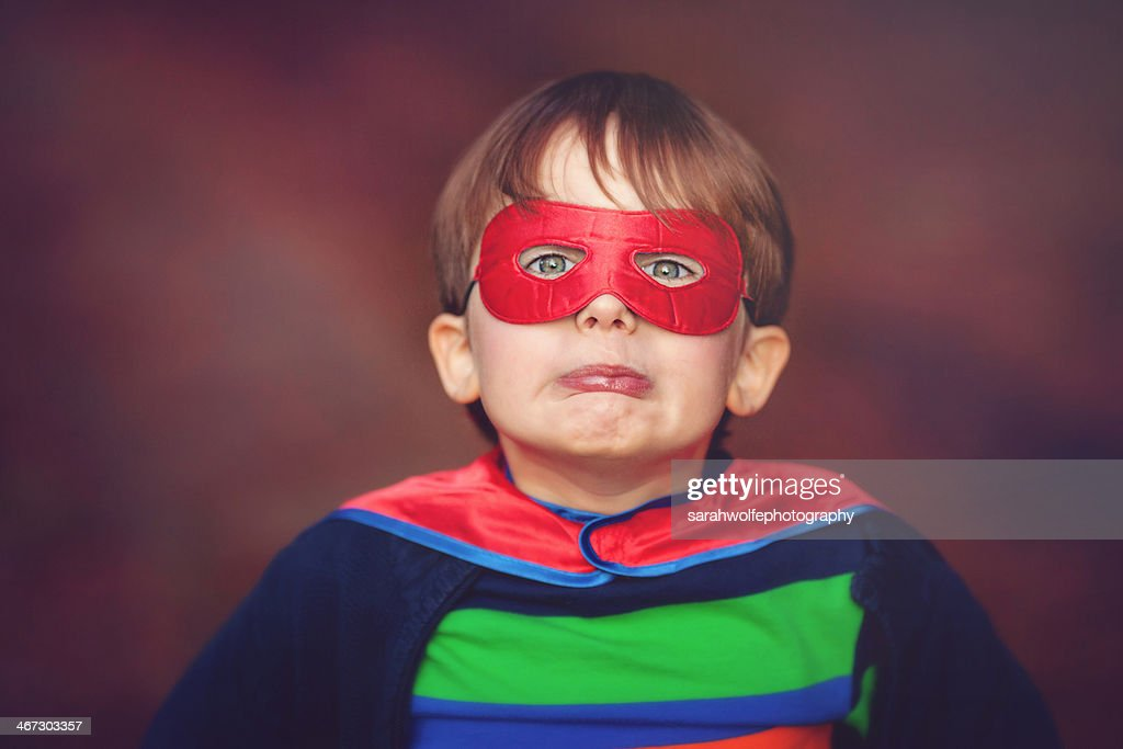 super kid! : Stock Photo