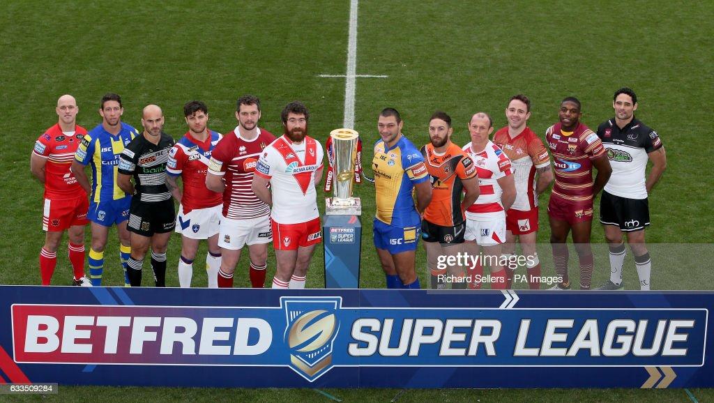 2017 Betfred Super League Season Launch - Leigh Sports Village : News Photo