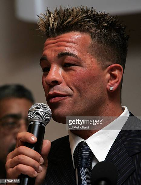WBC Super Lightweight Champion Arturo Gatti is honored at the Community Organization Making Boxing Alternatives Today for Tomorrow Awards at the...
