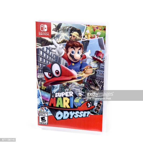 Super Mario Odyssey video game one of the items for the Post's annual gift guide on October 2017 in Washington DC