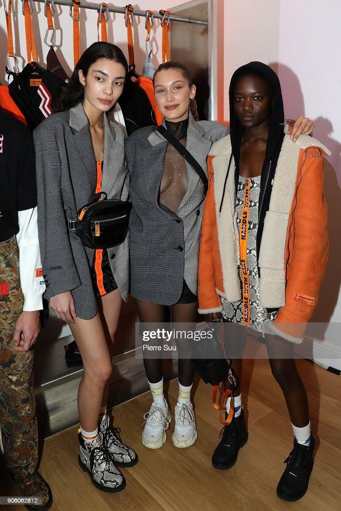 Heron Preston : Presentation  - Paris Fashion Week - Menswear F/W 2018-2019