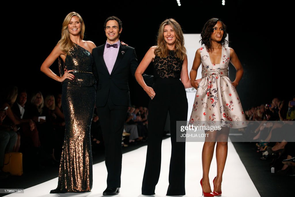 Super Model Heidi Klum Fashion Designer Zac Posen Fashion Editor News Photo Getty Images