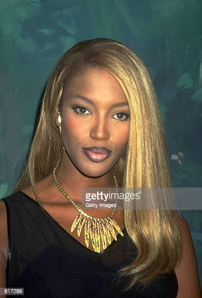 Super model Naomi Campbell.