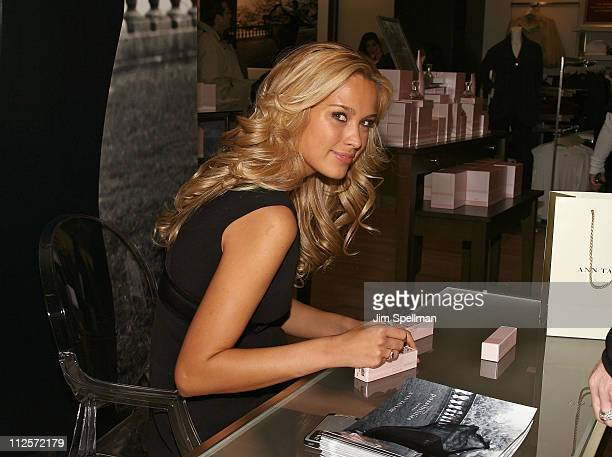 Super Model Petra Nemcova Launches Ann Taylor's First Fragrance Possibilities at Ann Taylor Garden State Plaza on December 1 2007 in New Jersey