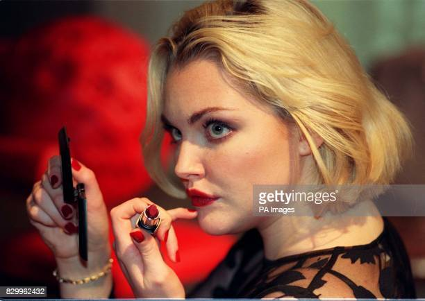 Super Model Sophie Dahl takes part in a unique Virtual Art Gallery inspired by and using Oil of Ulay's new Colour Cellection cosmetics at the ICA in...