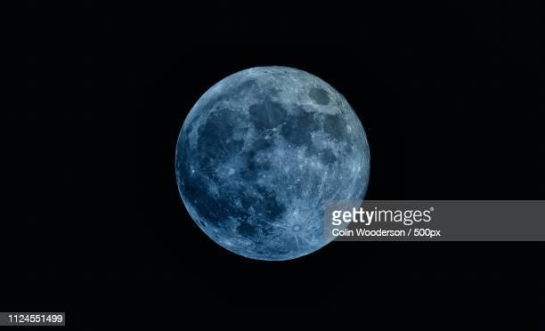 super moon 2018 - 暦月 ストックフォトと画像
