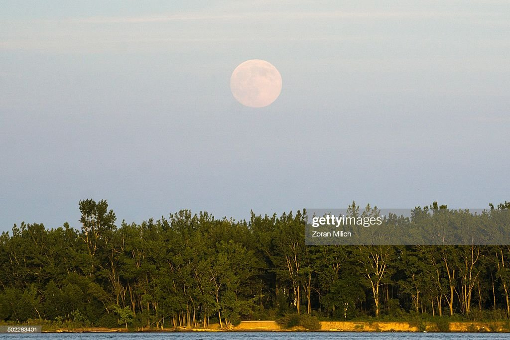 Supermoon 2014 Pictures Getty Images