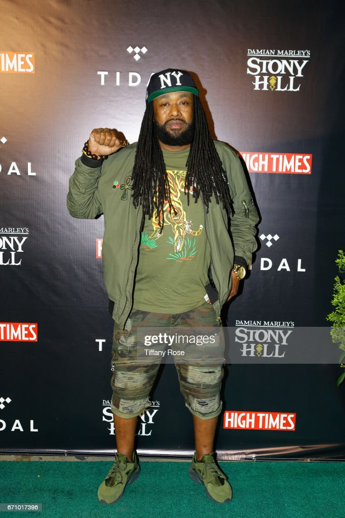 High Times Magazine 4/20 Celebration Hosted By Damien 'Jr. Gong' Marley at Boulevard3 on April 20, 2017 in Los Angeles, California.