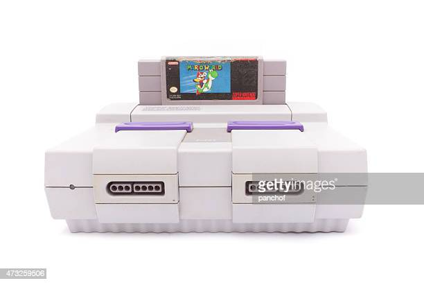 super nintendo - nintendo stock pictures, royalty-free photos & images
