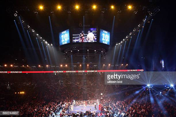Super Six World Boxing Classics Boxkampf im SuperMittelgewicht Arthur Abraham vs Jermain Taylor in der O2World in Berlin