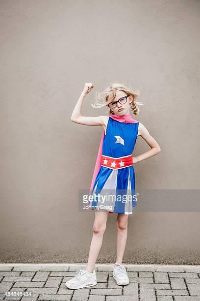 Super strong superhero girl