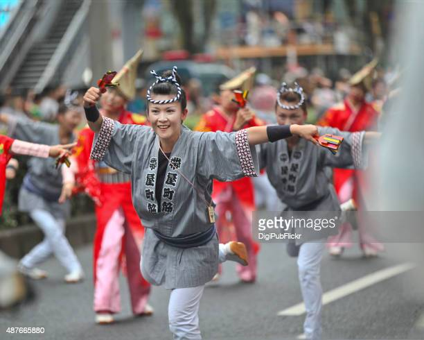 super yosakoi 2015 - happi stock photos and pictures