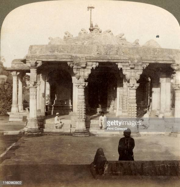 'Superb Marble Temples at Dilwarra on Abu the sacred mountain of the Jains India' 1903 The Dilwara Temples near Mount Abu Rajasthan were designed by...