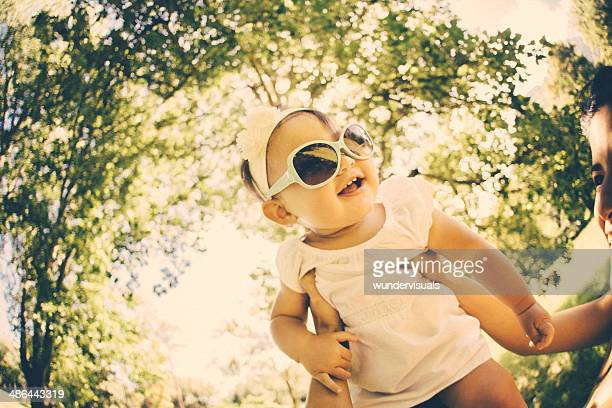 Superbaby with sunglasses
