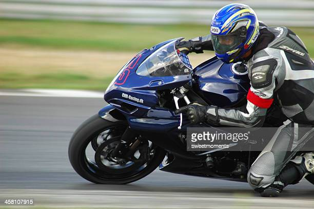 superbike - motorcycle racing stock pictures, royalty-free photos & images