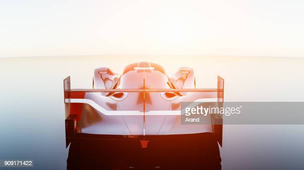 supercar, lemans prototype, photorealistic render - draft sports stock pictures, royalty-free photos & images