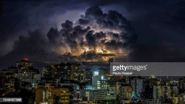 supercell - cumulonimbus stock pictures, royalty-free photos & images