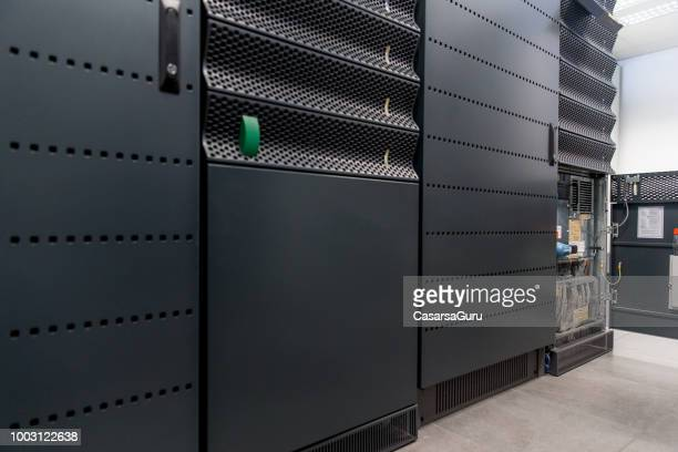 Supercomputer Electricity Backup Room Maintenance