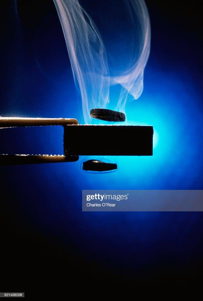 Superconductivity : Stock Photo