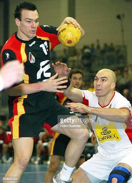 Supercup 2003, Riesa; Finale Deutschland - Spanien ; Heiko Grimm/GER, Demetrio Lozano/ESP